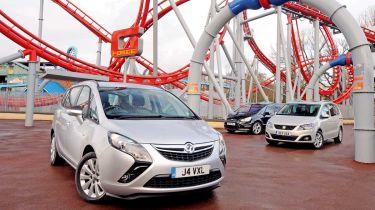 Vauxhall Zafira Tourer vs rivals