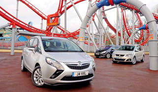 Vauxhall Zafira Tourer vs rivals
