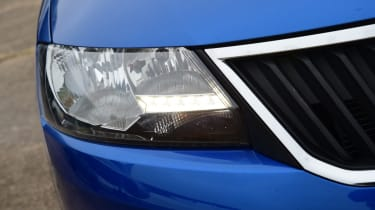 Skoda Rapid Spaceback - daytime running light