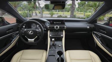 Lexus RC interior