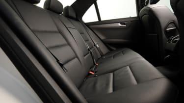 Mercedes C220 CDI Sport  rear seats