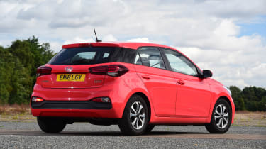 Hyundai i20 - rear static