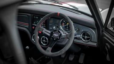 David Brown Automotive Mini Remastered Oselli Edition - dash