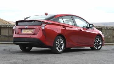 Toyota Prius - rear static