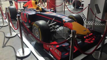 Goodwood 2016 - red bull f1