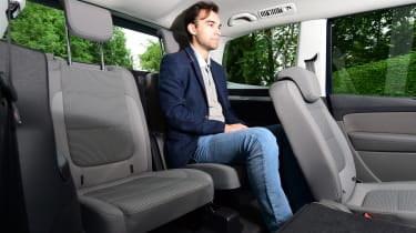 Volkswagen Sharan third row seat