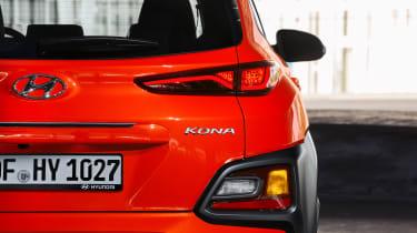 Hyundai Kona diesel - taillight