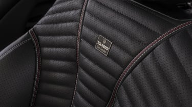 Brabus 700 leather seat