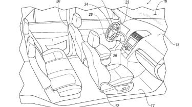 Ford autonomous car patent
