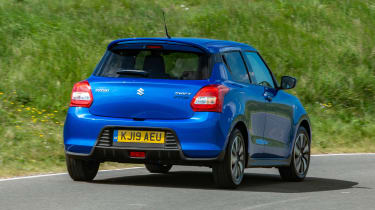 Suzuki Swift Attitude - rear cornering