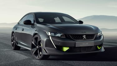 Peugeot 508 Sport Engineered concept - front static
