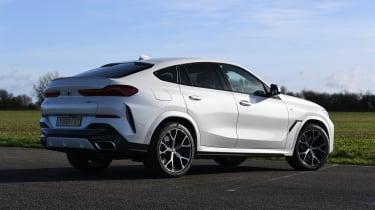 BMW X6 twin test - rear static