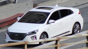 Hyundai Ioniq spy shot