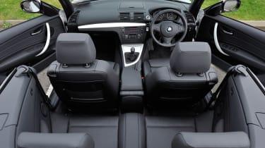 BMW 118d Convertible interior
