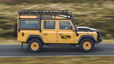 Land Rover Defender Works V8 Trophy - side shot