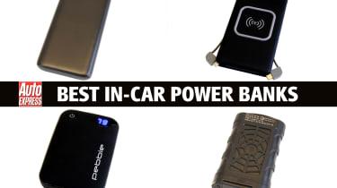 Best in-car power banks - header
