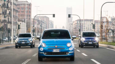 Fiat 500 Mirror special edition 2018 head on