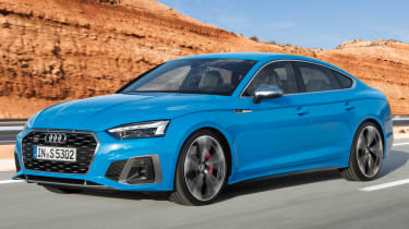 2019 Audi S5 Sportback- front tracking