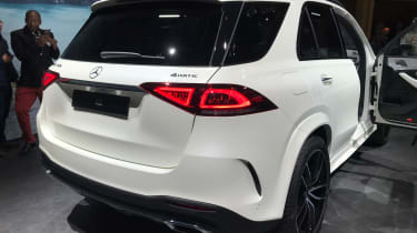 Mercedes GLE - Paris - Rear 3/4
