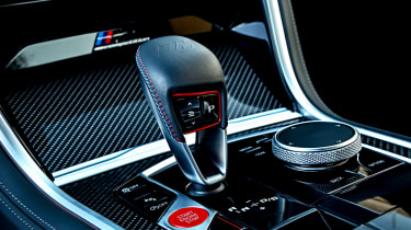 BMW M8 - transmission
