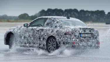 BMW 2 Series Coupe prototype - rear wet