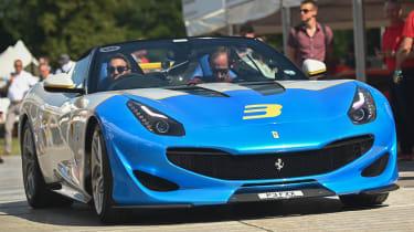 Ferrari SP3JC - front tracking Goodwood 2019