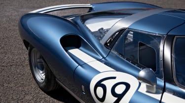 Ecurie Ecosse LM69 - rear detail