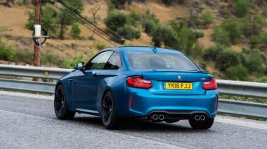 BMW M2 - rear cornering