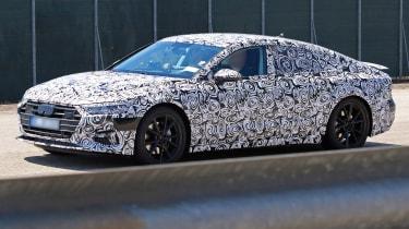 New Audi A7 spyshot - front/side 2