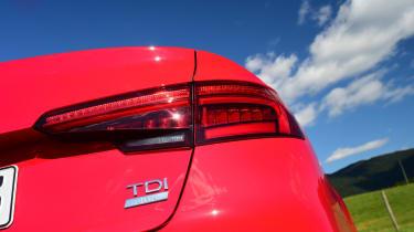 New Audi A4 2016 badge