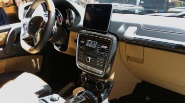Mercedes-Maybach G 650 Landaulet - Geneva interior