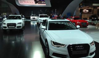 Audi CleanDiesel stand LA Motor Show