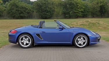 Used Porsche Boxster - side