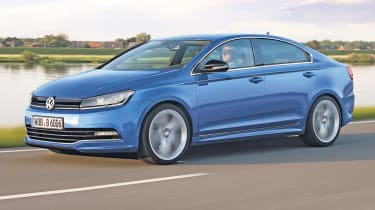 Volkswagen Golf Coupe front tracking
