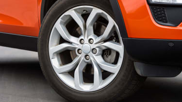Land Rover Discovery Sport long-term - wheel detail