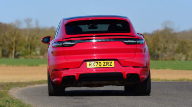 Porsche Cayenne Coupe GTS - rear cornering