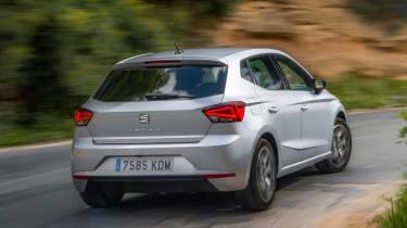 SEAT Ibiza diesel - rear