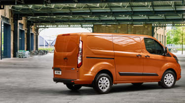 New 2017 Ford Transit Custom rear
