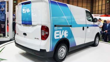 LDV EV30 - rear