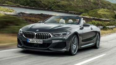 BMW 8 Series Convertible - front action