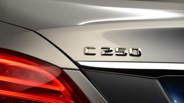 Mercedes C-Class 2014 studio rear badge