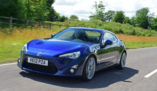 Toyota GT86 driving