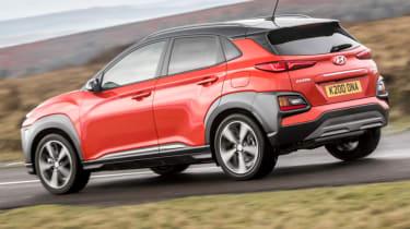 Hyundai Kona review - rear side action