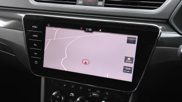 Skoda Superb - sat-nav