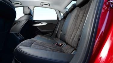 New Audi A4 2016 rear seats