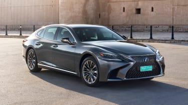 Lexus LS 500h - front static