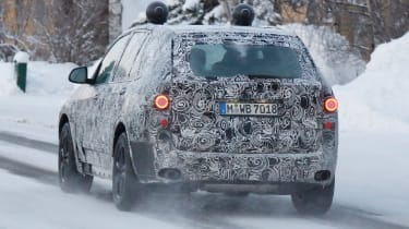 BMW X5 2017 rear