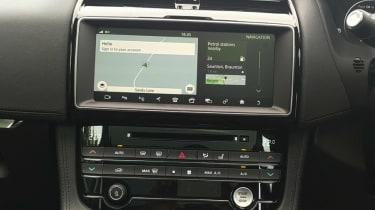 Jaguar F-Pace Portfolio dash