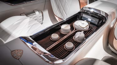 Vision Mercedes-Maybach Ultimate Luxury concept - tea service