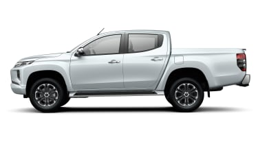 Mitsubishi L200 - side static white